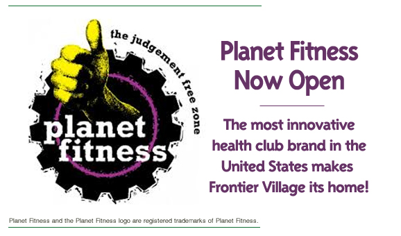 Planet Fitness Now Open
