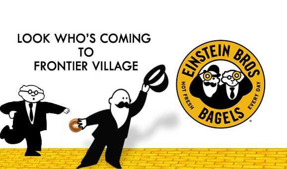 Einstein Bros Bagels has arrived