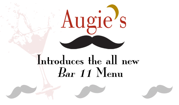 Augie's New Bar 11 Menu