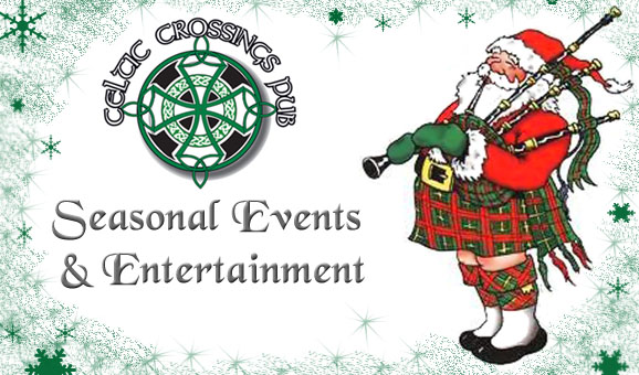 Celtic Crossings Pub Special Events