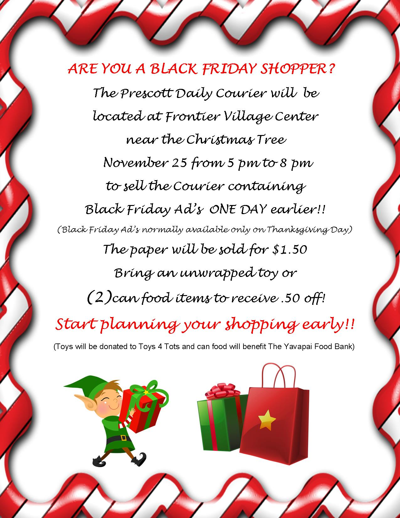 Black Friday Ad\'s | Frontier Village Center