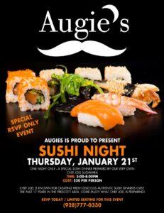 2016 Sushi Night